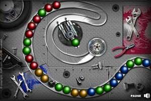 《机械祖玛》游戏画面1