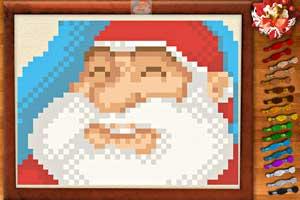 《圣诞十字绣》游戏画面1
