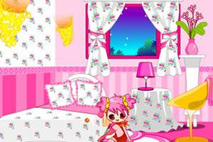 《优优的粉色卧室》游戏画面1
