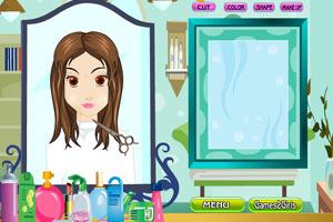 《女孩理想发型屋》游戏画面1