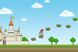 《护送公主回城堡》游戏画面1