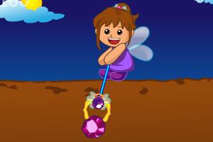《美眉挖宝石》游戏画面1