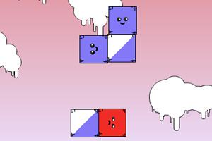 《移走红方块》游戏画面1
