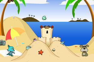 《海滩猫狗大战》游戏画面1