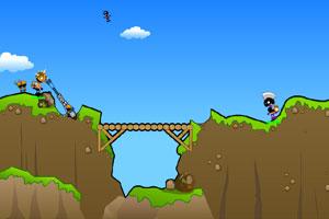 《火柴人-炮筒战士修改版》游戏画面1