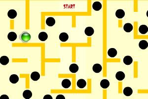 《小球迷宫进洞》游戏画面1
