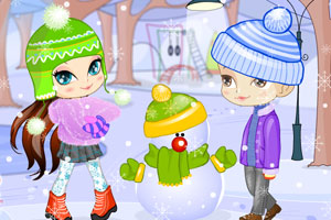 《雪人》游戏画面1