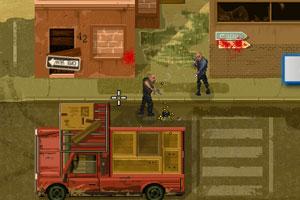 《勇闯十字街区》游戏画面1