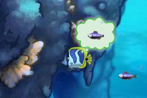 《深海大鱼吃小鱼》游戏画面1