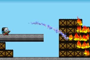 《神勇消防队员变态版》游戏画面1