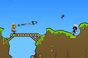 《火柴人-炮筒战士中文版》游戏画面1
