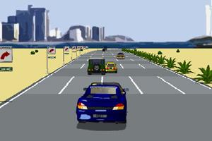 《狂热飙车无敌版》游戏画面1