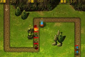 《电光塔前线守城V1.0中文版》截图1