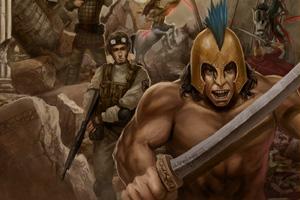 《帝国时代变态版》游戏画面1