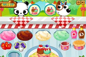 《小鸭冰淇淋店》游戏画面1