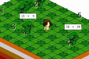 《原始人大战恐龙》游戏画面1
