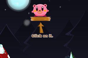 《小熊进木桶》游戏画面1