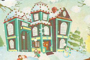 《装饰冬季房屋》游戏画面1