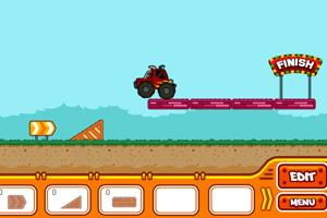 《设计汽车轨道》游戏画面1
