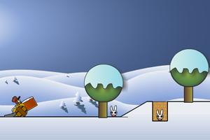 《炸死小兔子2》游戏画面1