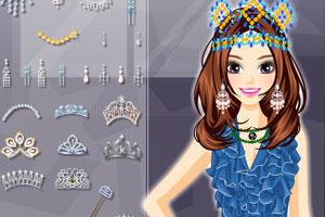 《选美皇后的发型》游戏画面1