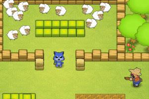 《小狼农场抓羊》游戏画面1