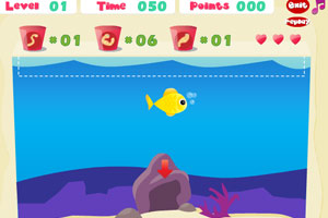 《小鱼回家》游戏画面1