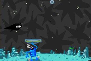 《外星人玩乒乓球》游戏画面1