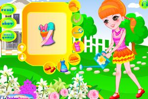 《花园里的姑娘》游戏画面1