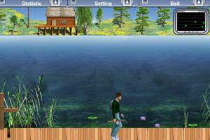《去湖边钓鱼》游戏画面1