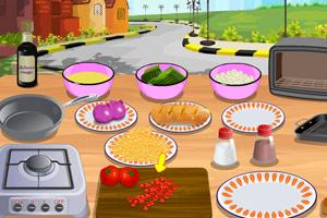 《蒜末烤面包》游戏画面1