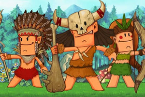 《野人部落beta2无敌版》游戏画面1
