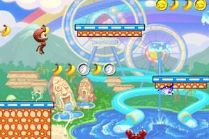 《猴子摘香蕉2中文版》游戏画面1