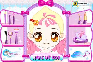《给MM化妆》游戏画面1