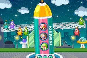 《小美玩火箭》游戏画面1