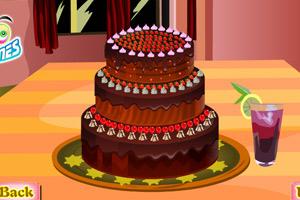 《甜蜜巧克力蛋糕》游戏画面1