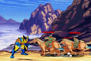 《金刚狼穿越三国》游戏画面1