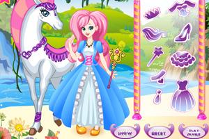 《白马公主》游戏画面1
