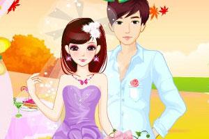 《浪漫的秋季婚礼》游戏画面1