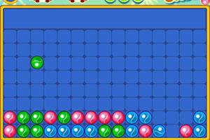 《滚动的彩色玻璃球》游戏画面1