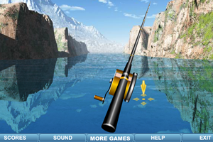 《河边钓鱼》游戏画面1