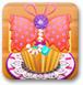 蝴蝶香蕉蛋糕
