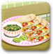 煎鱼玉米饼
