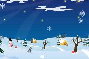 《滚动的雪球》游戏画面1