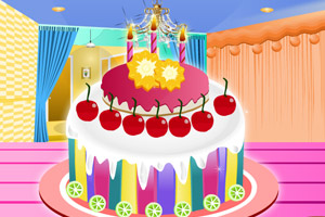 《生日大蛋糕》游戏画面1