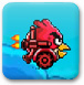 Angry bird red flush