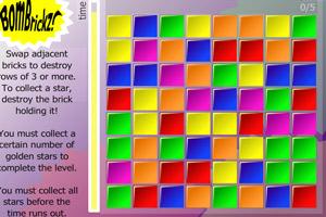 《彩砖爆破》游戏画面1