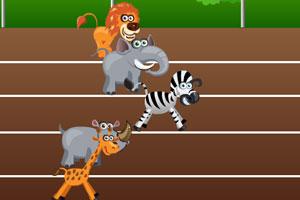 《非洲动物运动会》游戏画面1