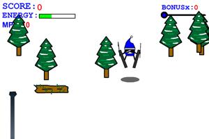 《高山障碍滑雪》游戏画面1