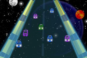 《霓虹赛车银河竞速》截图1